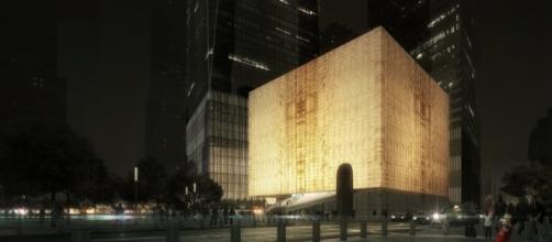 Il progetto del Perelman Center.