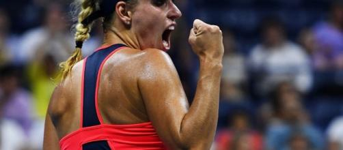 La campionessa degli US Open, Angelique Kerber