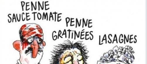 La vignetta di Charlie Hebdo sul terremoto di Amatrice