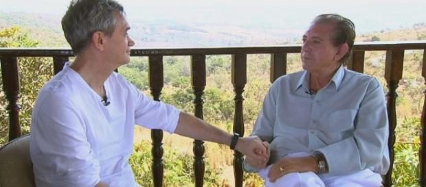 Em entrevista inédita, Serginho Groisman conversa com o médium ... - com.br
