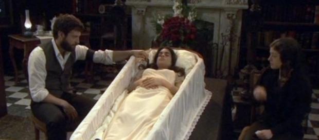 Il Segreto, anticipazioni puntata 1136: La veglia funebre di Ines