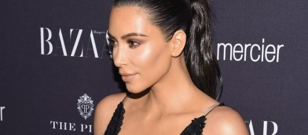 Kim Kardashian's nipples are popping out on a daily basis! Photo: K.K. via Inquisitr