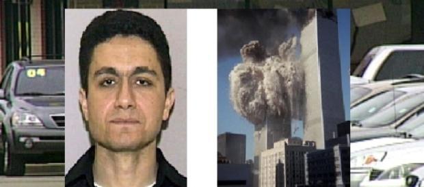 O egípcio Mohammed Atta, acusado de explodir as Torres Gêmeas