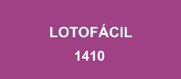 Resultado em 12/09 - Sorteio da Lotofácil 1410