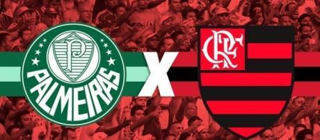 Palmeiras e Flamengo se enfrentam na próxima rodada do Brasileirão