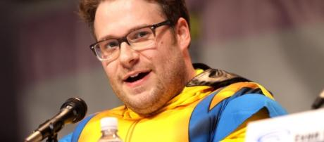 Seth Rogen is clearly not afraid to bet big and take risks/Photo via https://c1.staticflickr.com/9/8543/8611679596_09982c441f_b.jpg