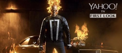 Gabriel Luna como Ghost Rider, el Vengador Fantasma