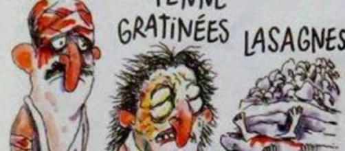 La vignetta pubblicata da Charlie Hebdo