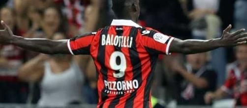 Mario Balotelli al debutto nel Nizza