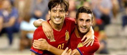 Silva y Koke se están erigiendo en las claves de la nueva España.