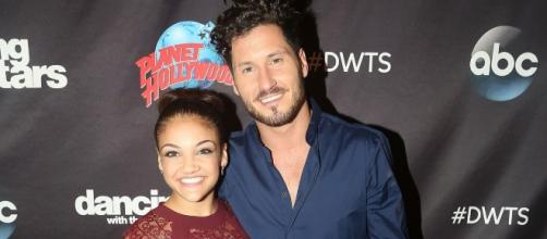 Watch Laurie Hernandez, Val Chmerkovskiy's First Meeting for 'DWTS ... - usmagazine.com