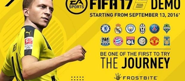 É amanhã o lançamento da Demo de FIFA 17