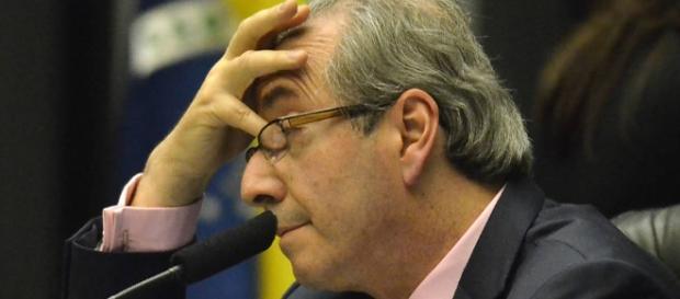 Eduardo Cunha foi entrevistado pelo jornalista Roberto Cabrini, do SBT