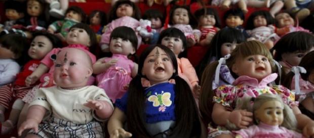 Los ángeles infantiless son la última moda en Tailandia (Reuters)