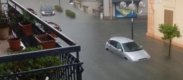 Pioggia e alluvioni in tutto il Salento.
