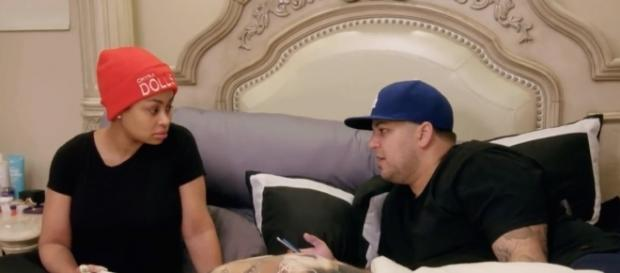 Rob & Chyna in reality show premiere from E! Photo: YouTube Screen Shot E! promo