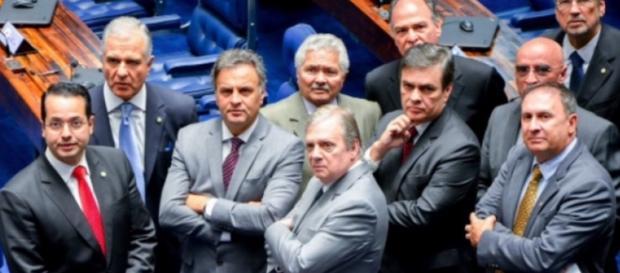Senadores acompanham votação - Foto/Agência Senado