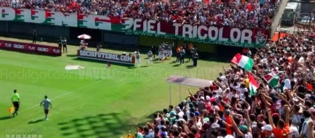 Torcida pode ser diferencial do Fluminense para subir no Brasileirão (Foto: Arquivo)