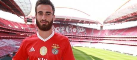Rafa se lesionou na sua estreia pelo Benfica