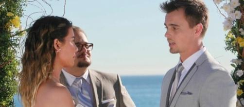 Beautiful anticipazioni: matrimonio Steffy e Wyatt, Liam ricorda