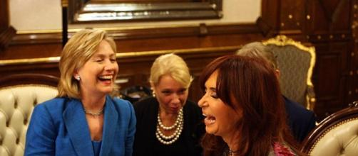 Hillary Clinton y Cristina Fernández de Kirchner