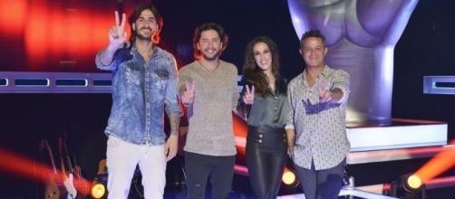 Melendi, Manuel Carrasco, Malú y Alejandro Sanz, 'coaches' de 'La Voz 4' /Mediaset