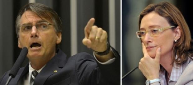 Bolsonaro se defendeu na tribuna (Foto: Divulgação)