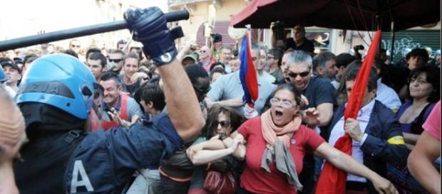 Brescia: Cariche al corteo antifascista degli studenti - infoaut.org