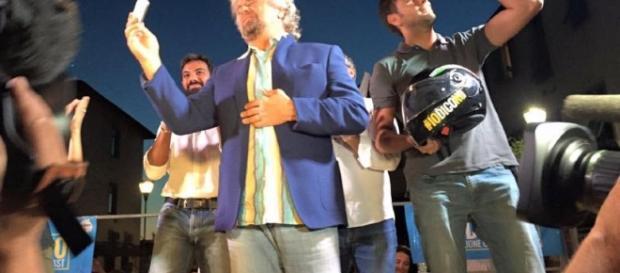Con Di Battista c'era anche Beppe Grillo per il no | Politica San ... - quinewsvaldicornia.it