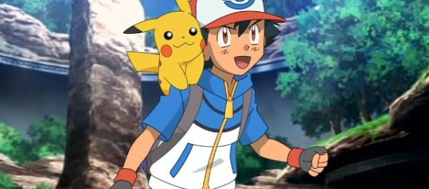 DeviantArt: More Like Ash and Pikachu by FitzOblong - deviantart.com