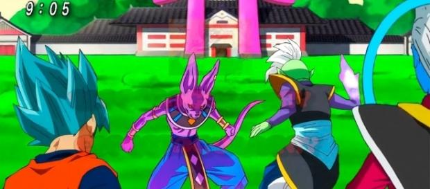 Dragon Ball Super Capítulo 59 la pelea de Bills vs Zamasu