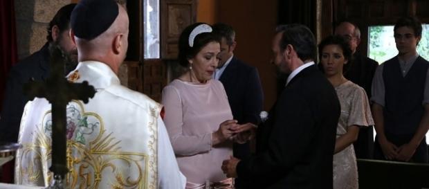 Il Segreto: il matrimonio di Francisca e Raimundo
