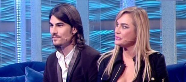 Lory Del Santo con il fidanzato