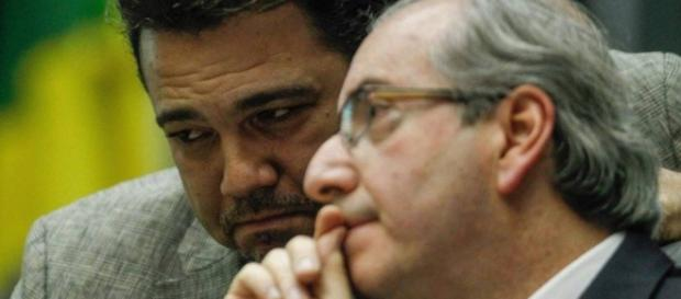 Marco Feliciano e Eduardo Cunha