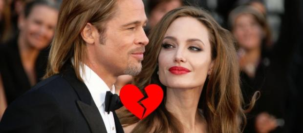 Nella foto: Brad Pitt e Angelina Jolie.