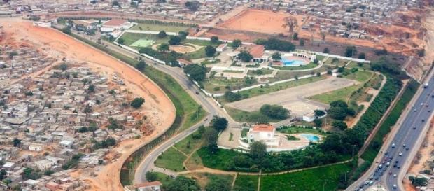 Mansão na Angola conta com recursos brasileiros