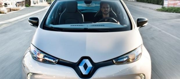 Voiture électrique Zoe conçue et distribuée par Renault