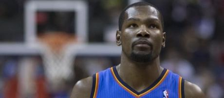 Kevin Durant has been name-dropped by many a rapper, including Drake. Photo c/o Wikimedia Commons.