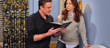 Will Marshall and Lily Live in Italy? from How I Met Your Mother ... - eonline.com