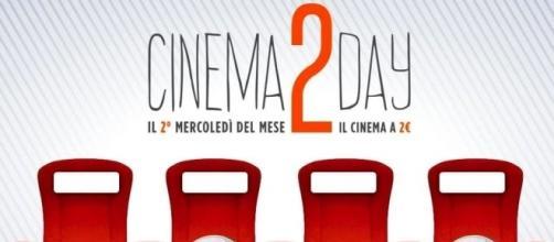 Cinema 2 day, ogni secondo mercoledì del mese