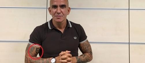 Come si è presentato Paolo Di Canio negli studi di Sky Sport