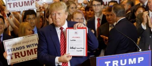 El candidato republicano, Donald Trump