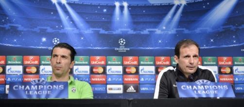 FOTO Juventus, Allegri e Buffon senza paura contro il Borussia ... - corrieredellosport.it
