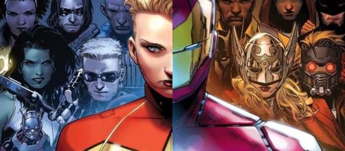 Iron Man vs. Capitán Marvel en Civil War II