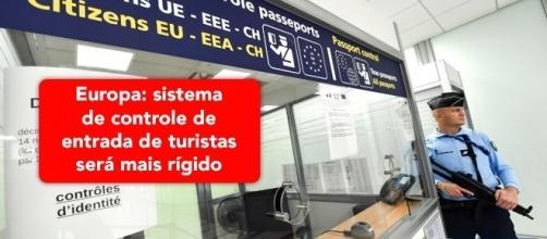 União Europeia está implantando sistemas de segurança que afetam brasileiros - Foto: Reprodução France24