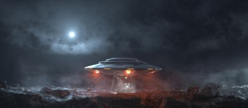 Volumes - UFO scene - Arnold for Maya User Guide - Solid Angle - solidangle.com