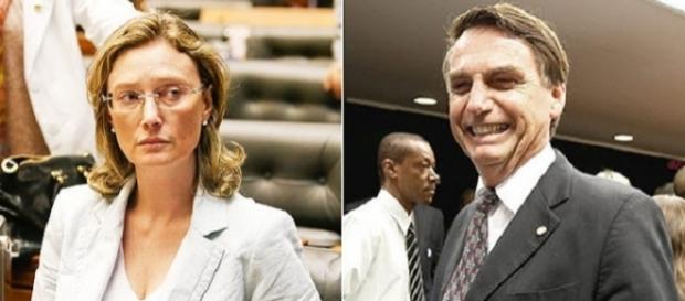 Bolsonaro se defendeu durante sessão e foi aplaudido (Foto: Reprodução/Folha)