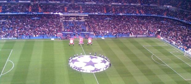 O Santiago Bernabéu é o palco do Real Madrid-Sporting
