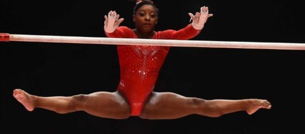 Simone Biles pictures of 3rd straight gymnastics world ... - newsday.com