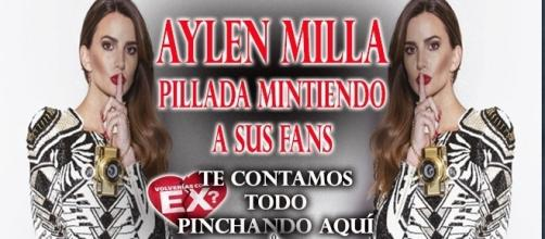 Aylén Milla pillada mintiendo a sus fans